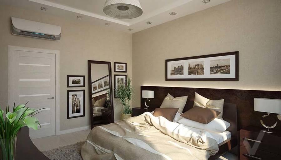 Таунхаус в п. Павлово, дизайн спальни - 5