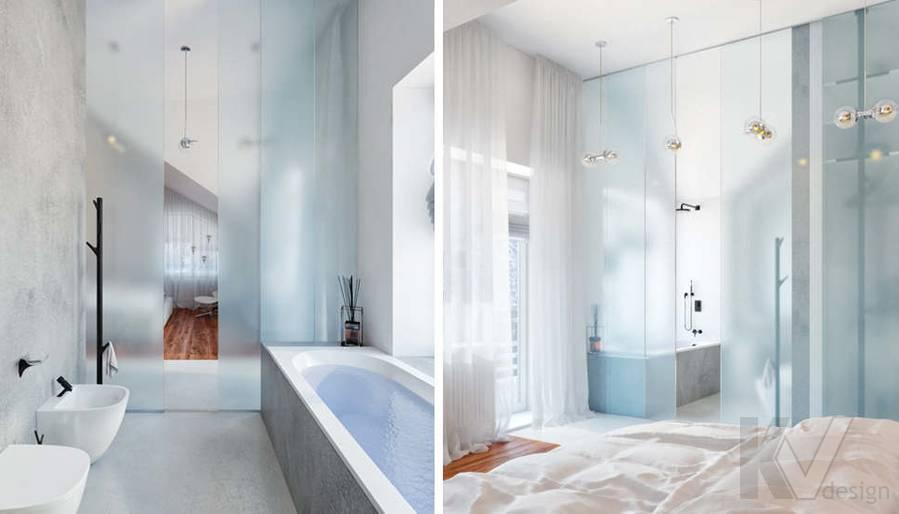 Дизайн ванной в доме, КП Пестово - 2