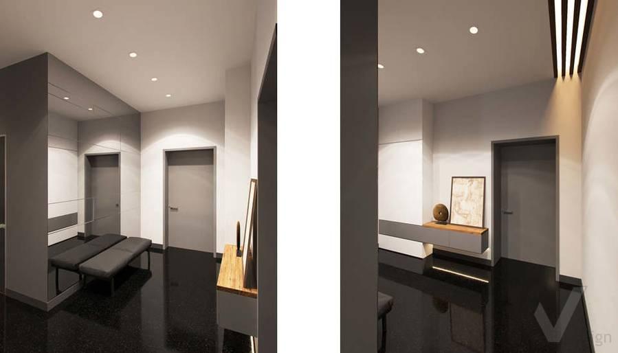 """Дизайн 1-го этажа в доме,  КП """"Западная Долина"""" - 7"""