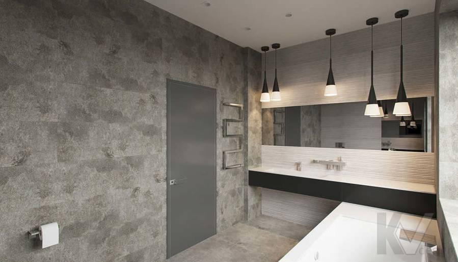 """Дизайн ванной в доме,  КП """"Западная Долина"""" - 4"""