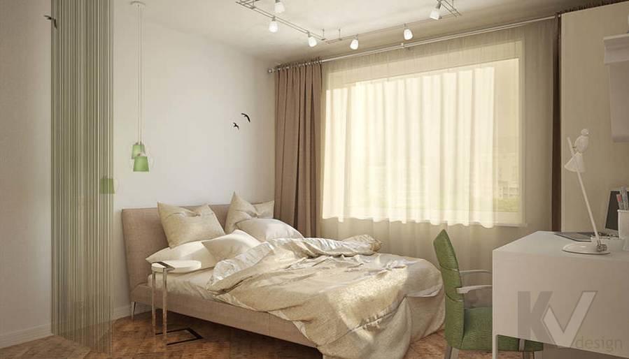 Дизайн квартиры-студии, Коломенская - 4