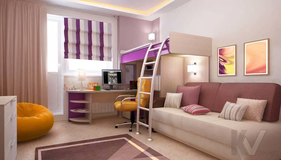 Дизайн детской в двухкомнатной квартире, Подольск - 1