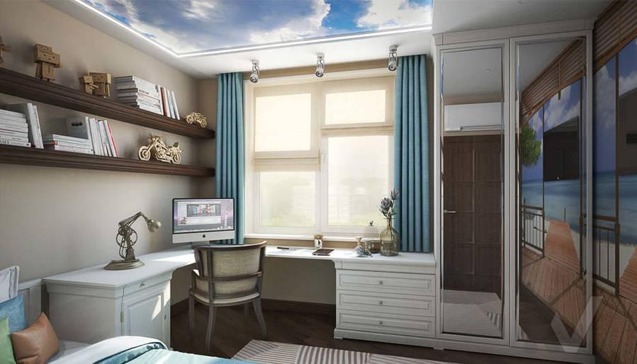дизайн комнаты молодого человека, Одинцово - 2