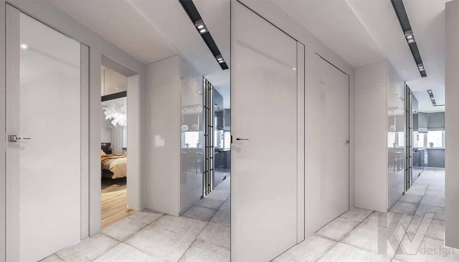 Дизайн прихожей в двухкомнатной квартире, Сходненская - 3