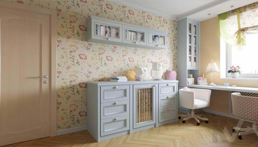 Дизайн детской в квартире серии П-3, Ясенево - 2