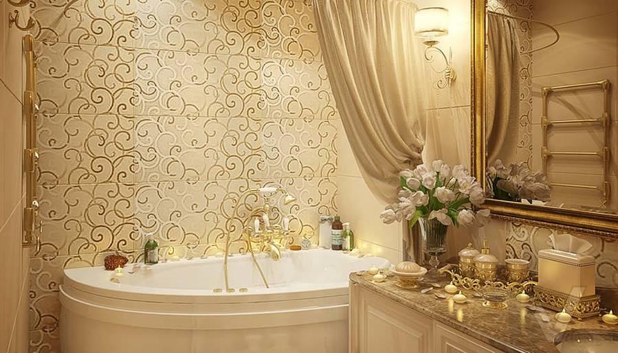 Дизайн квартиры на м. Смоленская, ванная - 4
