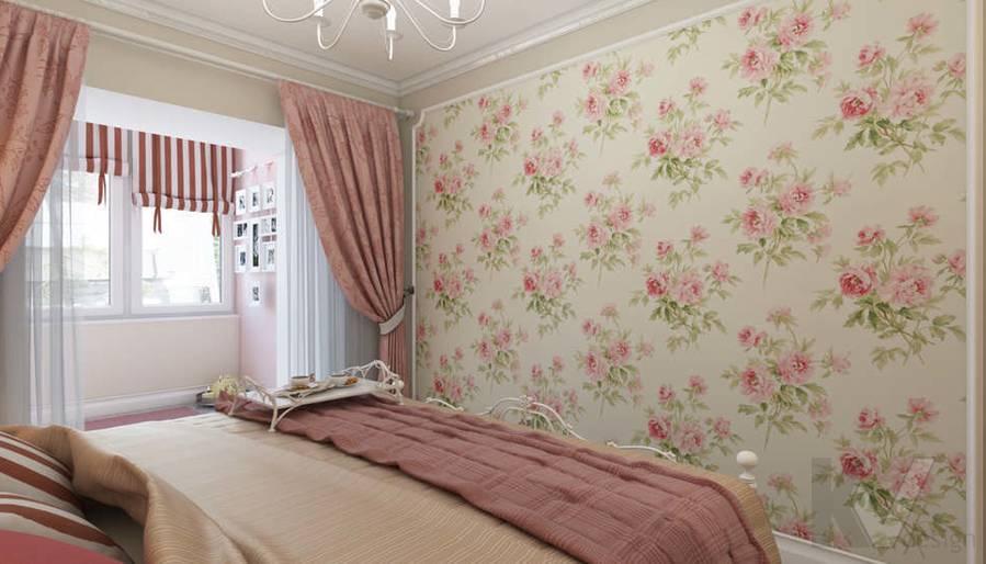 дизайн спальни в 3-комнатной квартире, Новая Москва - 2