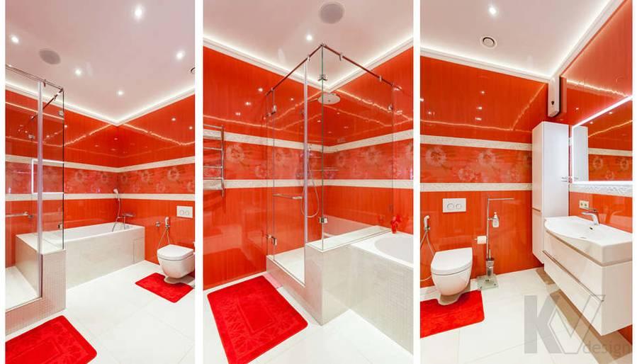 """Фотография ванной в 2-комнатной квартире, ЖК """"Авеню 77"""" - 1"""