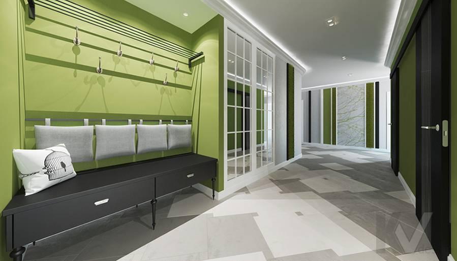 Дизайн прихожей в 5-комнатной квартире, Климовск - 1