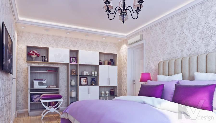 Дизайн спальни в квартире П-3М на Профсоюзной - 3