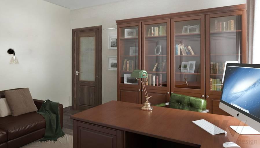 Кабинет в 4-комнатной квартире, Реутов - 3