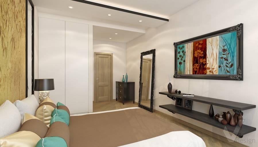 Спальня в 4-комнатной квартире, м. Киевская - 3