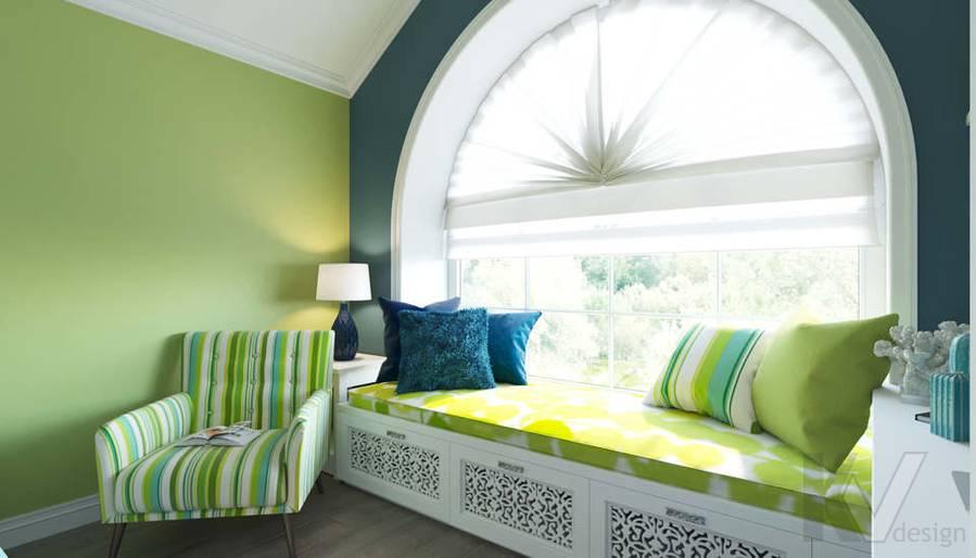 Дизайн спальни в коттедже, КП «Vita Verde» - 5