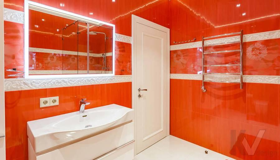 """Фотография ванной в 2-комнатной квартире, ЖК """"Авеню 77"""" - 4"""