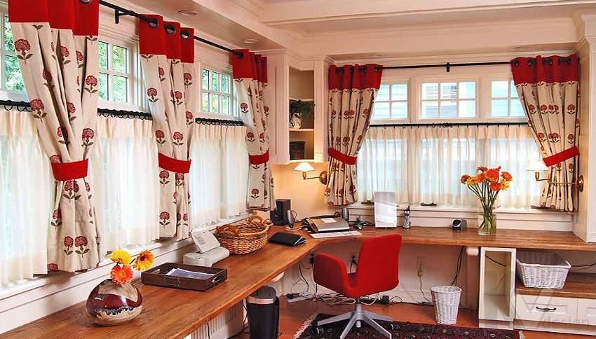 Дизайн кабинета в частном загородном доме