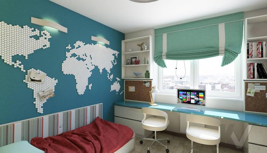 дизайн детской в 3-комнатной квартире П-44Т, Речной вокзал - 1