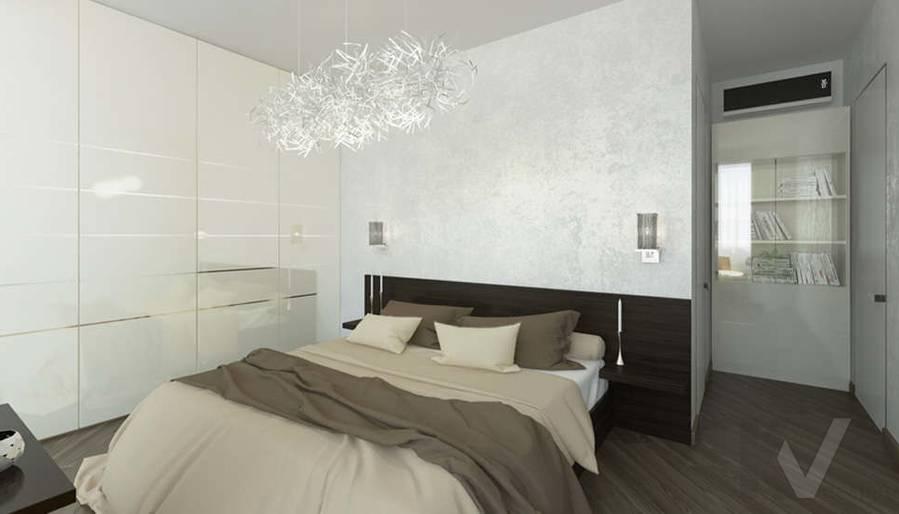 дизайн спальни в 3-комнатной сталинке, Старый Арбат - 2