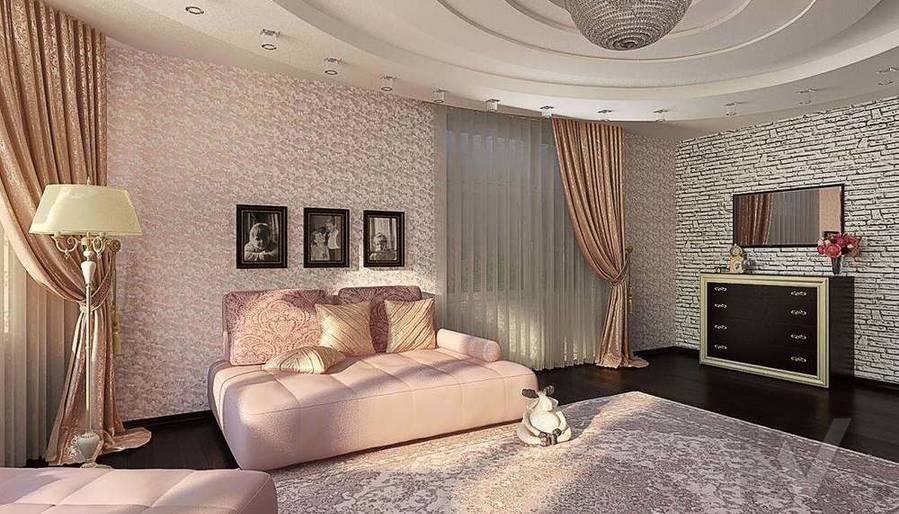 Декорирование квартиры в ЖК Квартал, гостиная - 3
