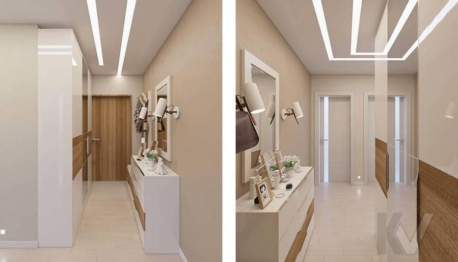 Дизайн прихожей в 2-комнатной квартире П-44Т, Московский - 2