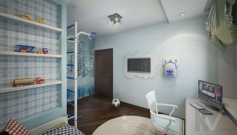 дизайн детской комнаты мальчика, Одинцово - 3