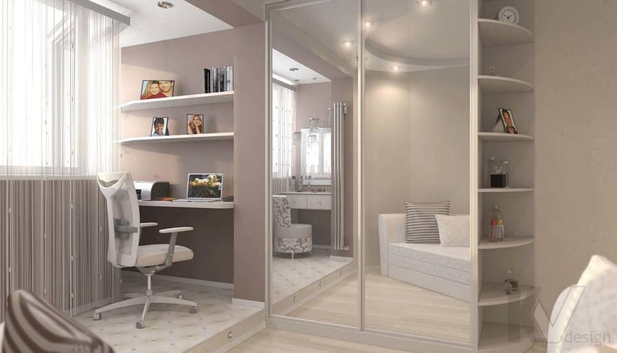 дизайн спальни в квартире П-44Т