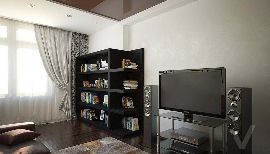 Декорирование квартиры в ЖК Квартал, кабинет - 2