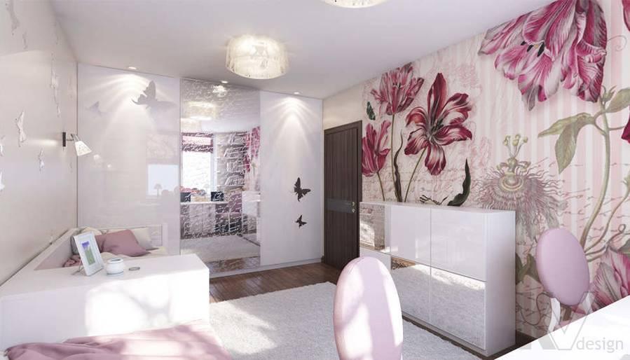 Дизайн детской в 2-комнатной квартире, Реутов - 2