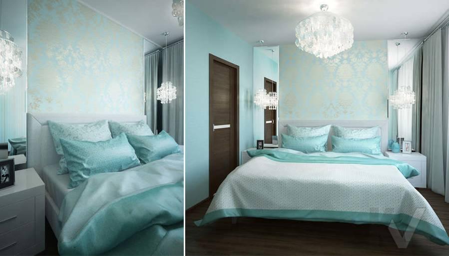 Дизайн спальни в 2-комнатной квартире, Мытищи - 3