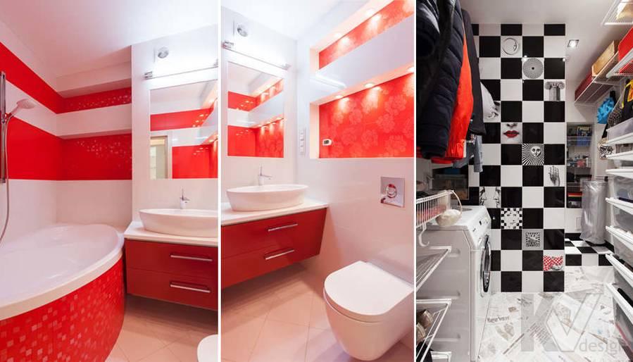 Фото дизайна ванной комнаты и гардеробной