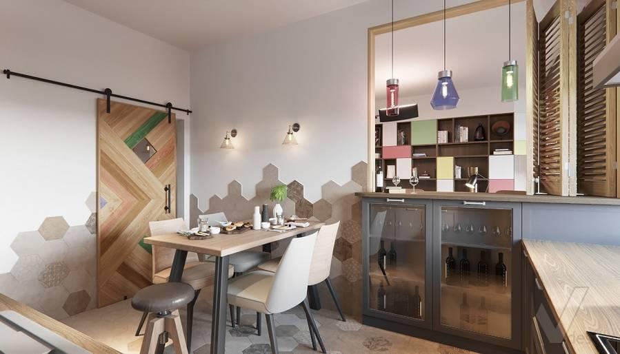Дизайн кухни в ЖК «На Циолковского» - 3