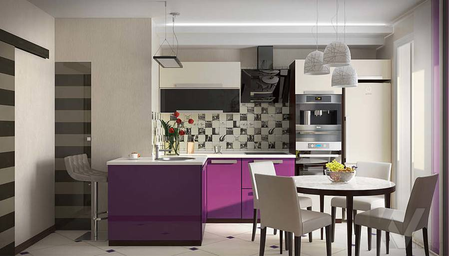 Дизайн кухни - 4, Солнцево Парк