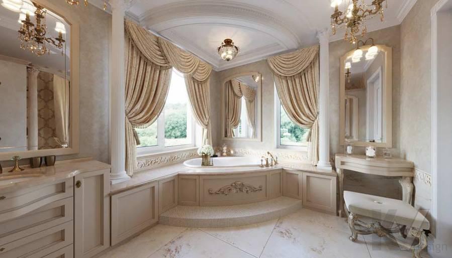 Ванная комната в загородном доме, Медвежьи Озера - 5