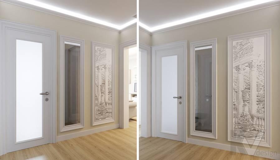 Дизайн прихожей в квартире в Крылатском - 2