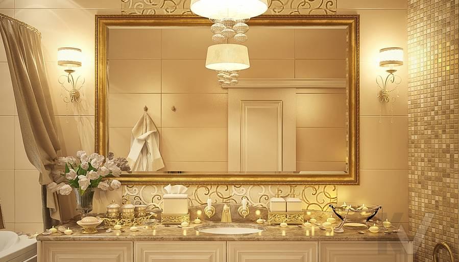 Дизайн квартиры на м. Смоленская, ванная - 3