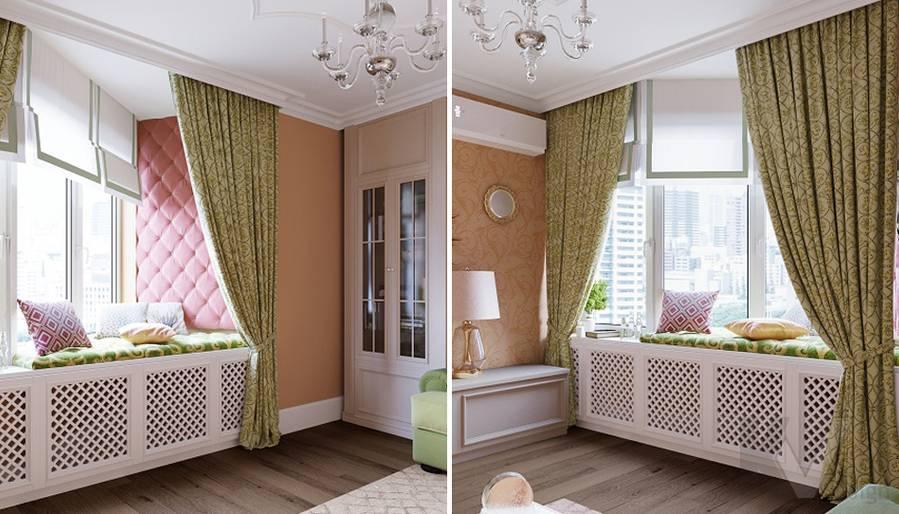 Дизайн гостиной в квартире на м. Смоленская - 5