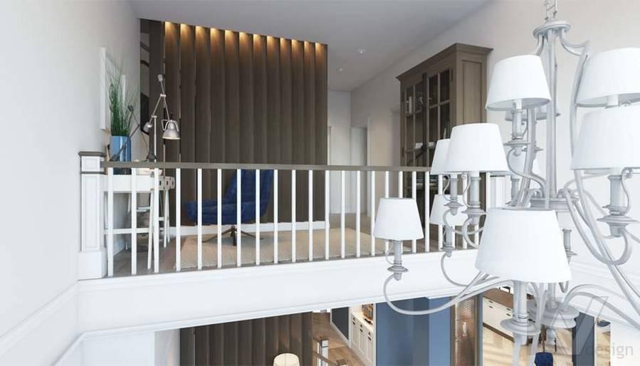 Дизайн кабинета в коттедже, КП «Vita Verde» - 3