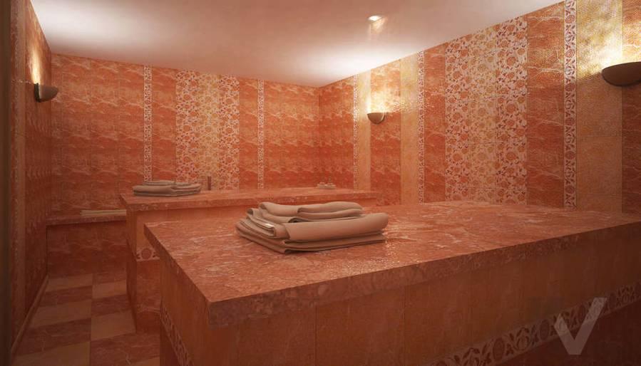 Дизайн СПА-салона в г. Чебоксары, хамам