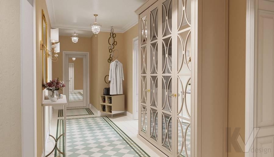 Дизайн прихожей в квартире на м. Смоленская - 5