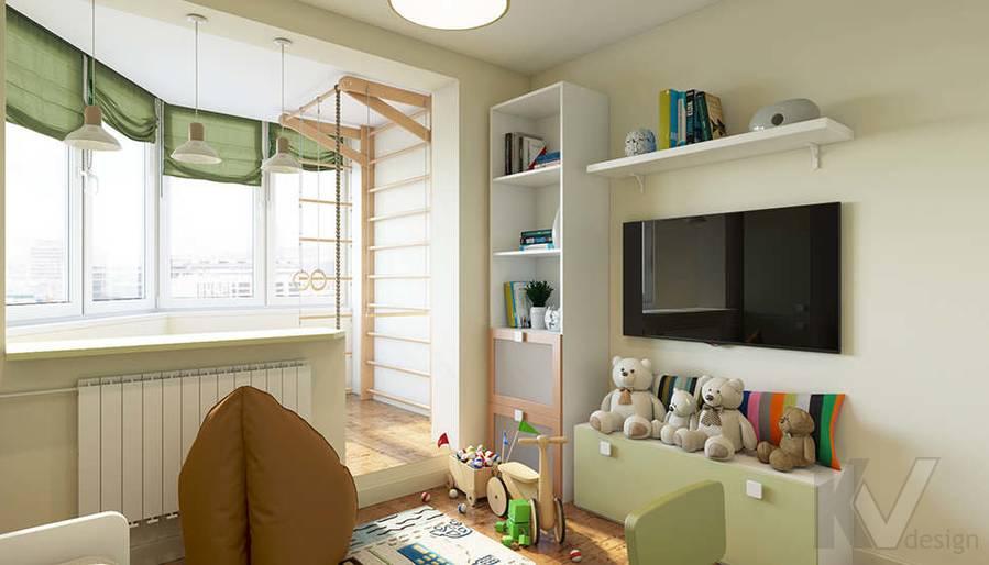 Дизайн детской в 2-комнатной квартире П-44Т, Московский - 4