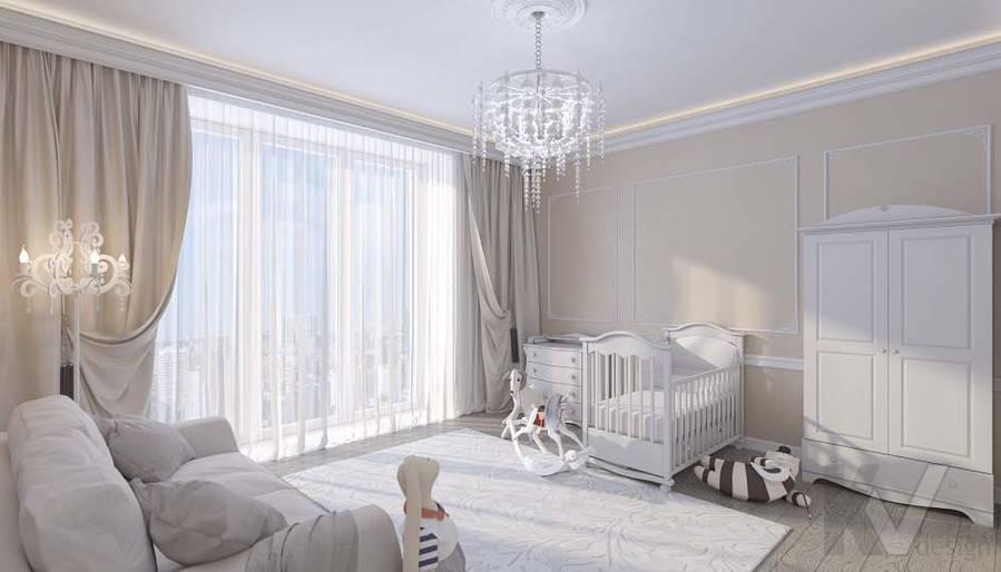 Дизайн комнаты малыша в доме, КП «Парк Авеню» - 1