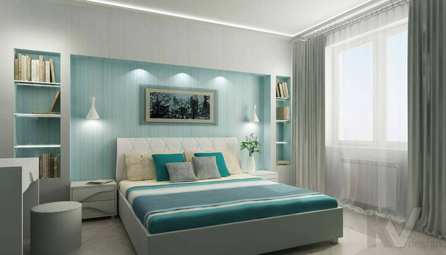 Дизайн спальни - 4, Солнцево Парк