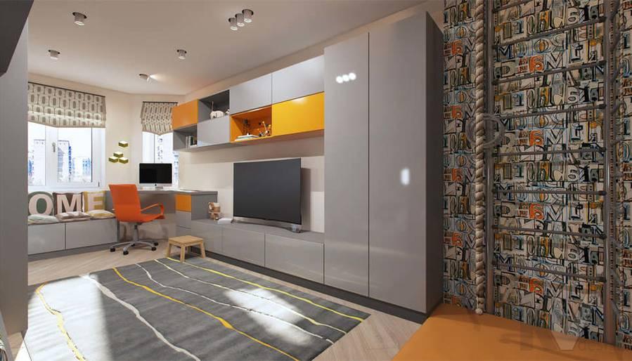 дизайн детской комнаты в квартире П-3М, Владыкино - 3