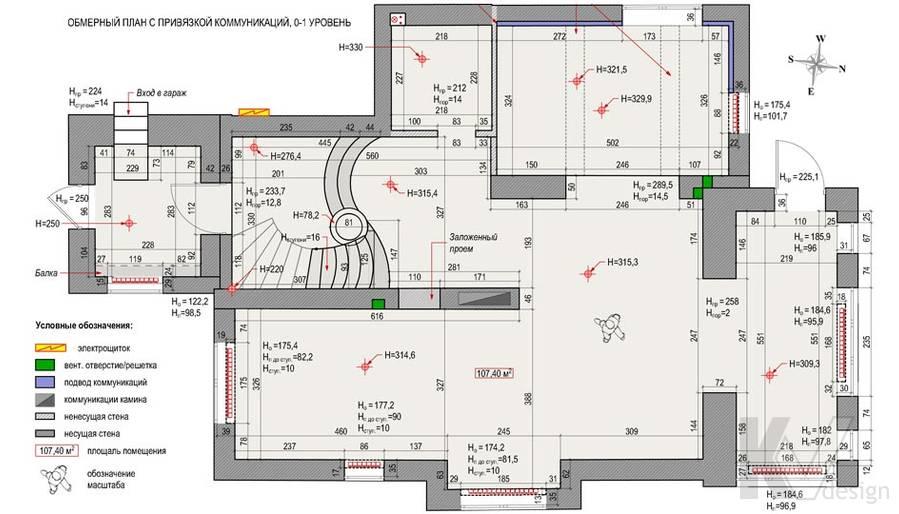План первого этажа загородного дома, Медвежьи Озера