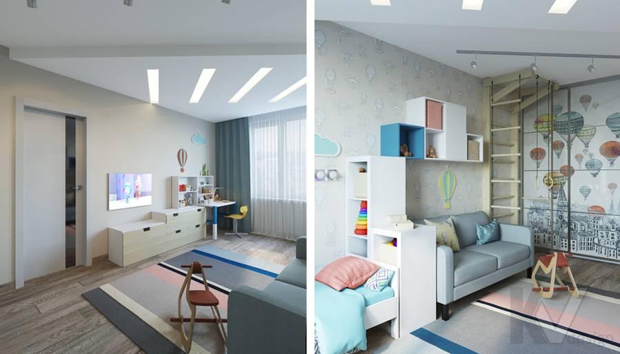 дизайн детской в 3-комнатной квартире, Welton Park - 5