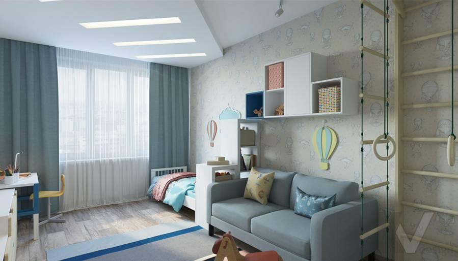 дизайн детской в 3-комнатной квартире, Welton Park - 1