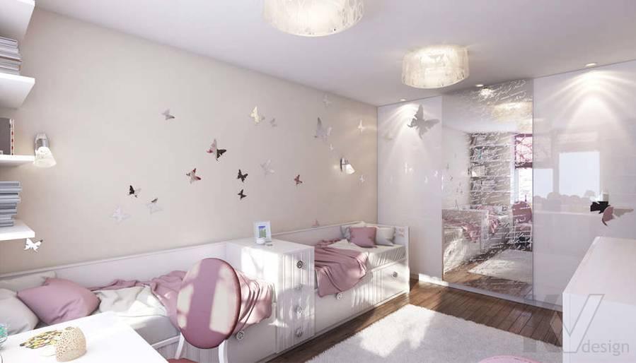 Дизайн детской в 2-комнатной квартире, Реутов - 3