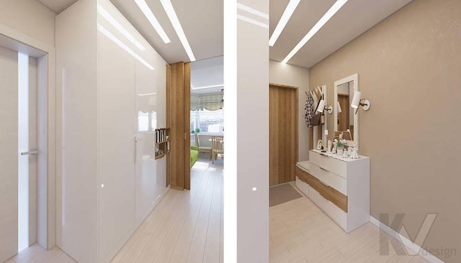 Дизайн прихожей в 2-комнатной квартире П-44Т, Московский - 4