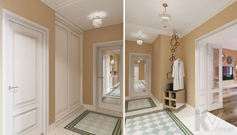 Дизайн прихожей в квартире на м. Смоленская - 1