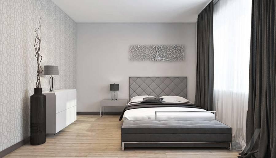 дизайн спальни в 3-комн. квартире на Сухаревской - 2