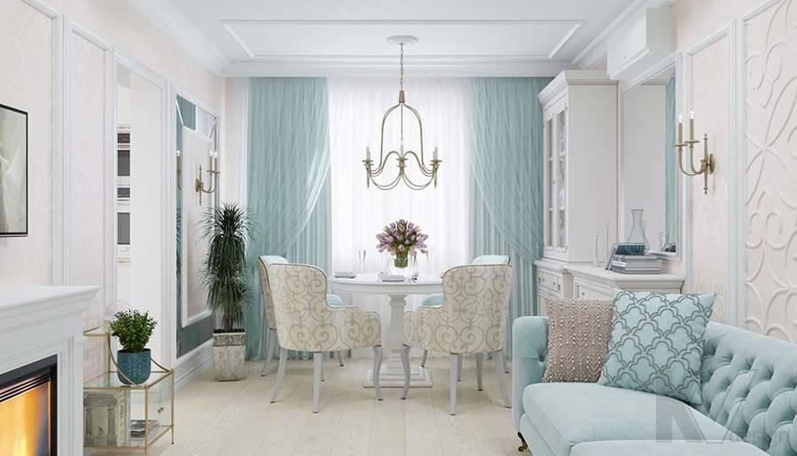 Дизайн гостиной в квартире серии П-3, м. Братиславская - 1